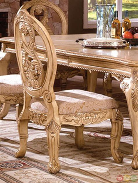 antique white dining room furniture tuscany dining room set