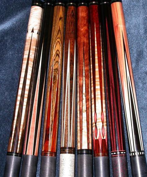 Professional Handmade Cues - dave jones custom cues