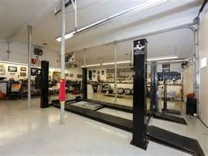 Shop Pit Garage With Car Lift And Mechanics Pit In Wall Nj