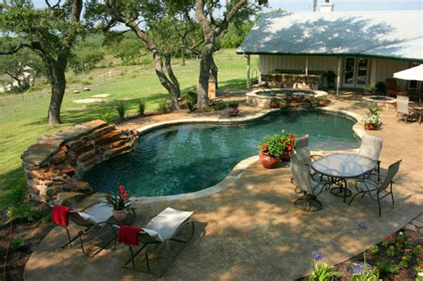 luxury backyards luxury backyards traditional pool austin by cody