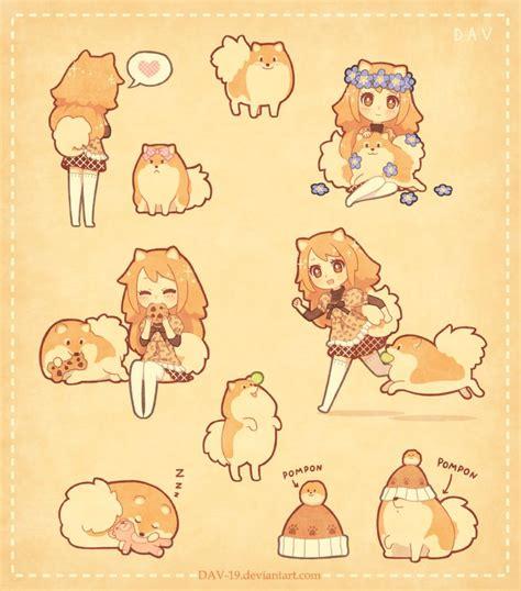 pomeranian chibi 67 best pomeranian images on pomeranians baby dogs and demons
