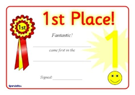 sports day certificate template primary sports award certificates sparklebox