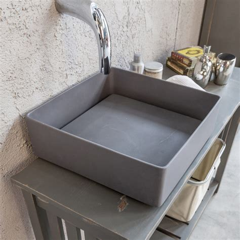 lavelli resina lavabo sobre encimera de resina con plancha trabocchetto
