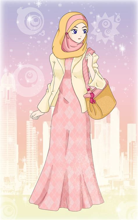 wallpaper anime muslimah anime muslim wallpaper www imgkid com the image kid