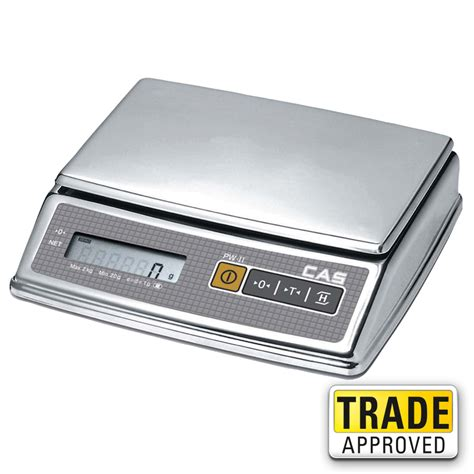 Weighing Scale by Cas Pw Ii Digital Weighing Scale Portion Scale