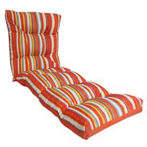 coussin r 233 versible pour chaise longue d ext 233 rieur rona