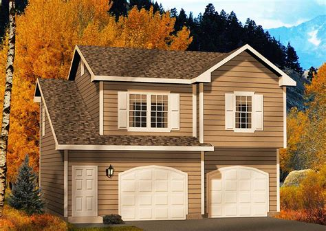 2 car garage with apartment two car garage apartment 2245sl architectural designs