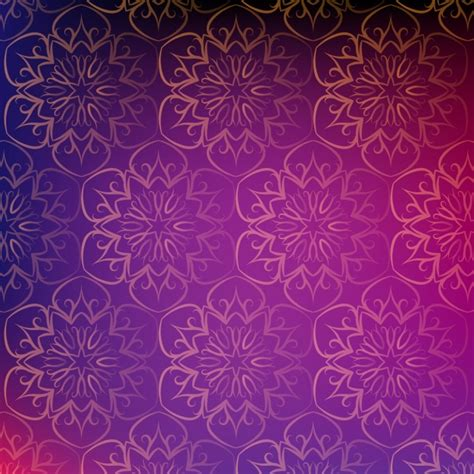 ai vector background pattern mandala pattern background vector free download