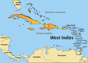 west indies map west indies caribbean islands montserrat