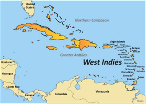 world map with country name west indies opinions on west indies