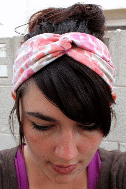 How To Make Handmade Headbands - how to make a turban headband images femalecelebrity
