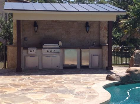 Kitchens Remodeling Ideas by Outdoor Kitchens Spindler Construction Austin Texas