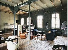 Rustic Industrial Interior Design Industrial Style ... Industrial Style Home Decor