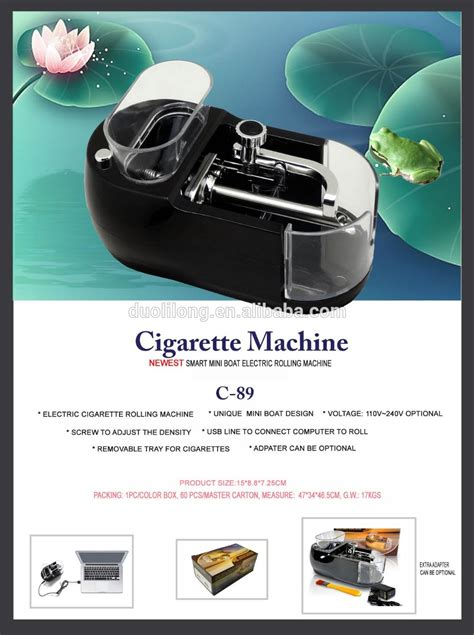 mini boat price small mini boat design cigarette rolling machine with ac