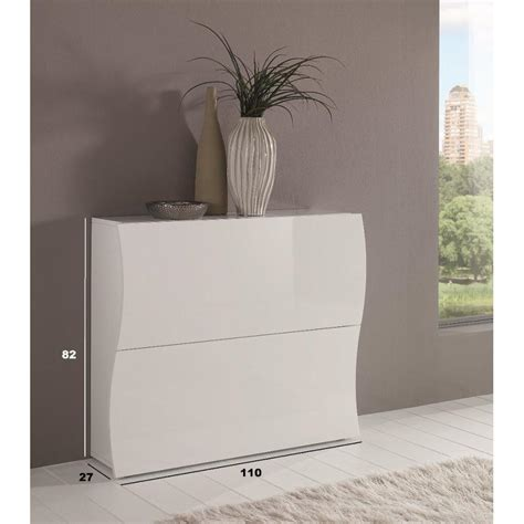Impressionnant Meuble Laque Blanc Brillant #3: meuble-chaussures-2-portes-laque-blanc_2.jpg