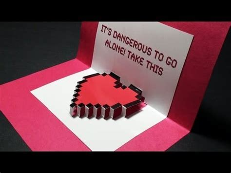valentines pop up cards templates hacked pop up s day card free template