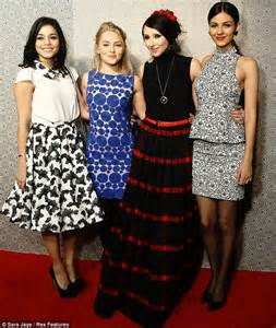 vanessa hudgens annasophia robb and victoria justice are