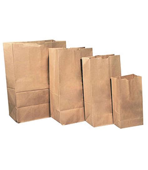brown paper bags pkt 50 materials craft graphic