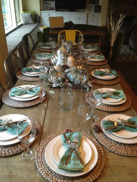 dining room table setting ideas best 20 thanksgiving table settings ideas on pinterest
