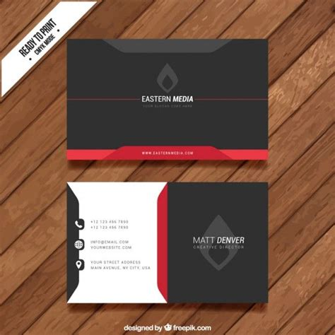 visit card templates escuro cart 227 o de visita visit cards and business cards