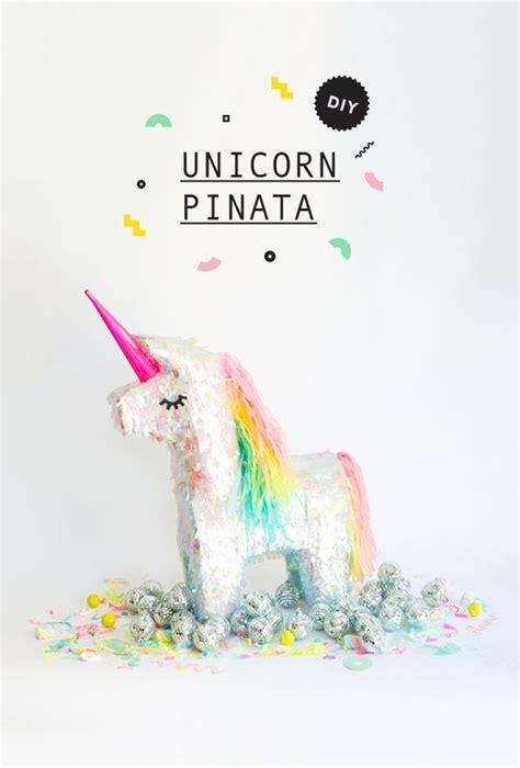 decoracion unicornio cumpleaños pi 241 ata de unicornio unicorn pinata diy craftideas