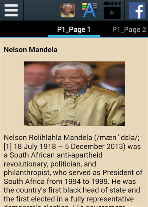 nelson mandela biography references nelson mandela biography android apps on google play