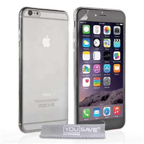 0 Iphone 6 Plus by Yousave Iphone 6 Plus 0 6mm Clear Gel Mobile Mad