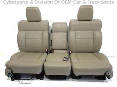 oem ford truck replacement seats replacement ford f 150 f150 oem used leather replacement