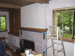 can you paint wood paneling can you paint over paneling