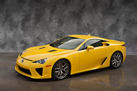 yellow lexus lfa official yellow lexus lfa photos lexus enthusiast