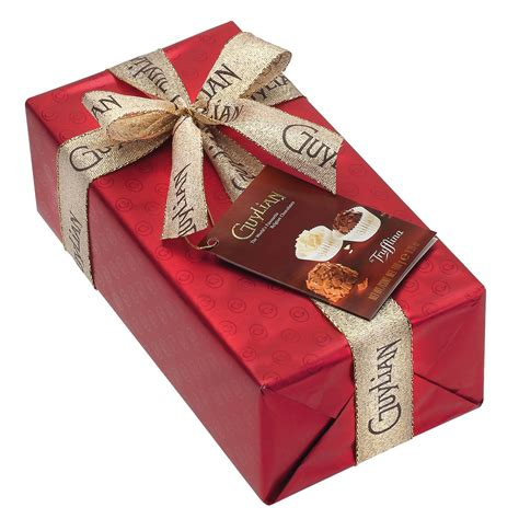 it gifts la trufflina gift wrapped ballotin 180g guylian belgian