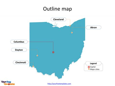 Ohio Map Powerpoint Templates Free Powerpoint Templates Of Cincinnati Powerpoint Template
