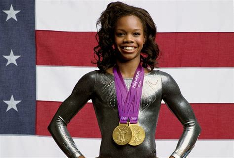 getting to douglas gabby douglas was told to get a nose by early