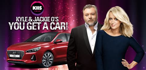 every caller to win a car on kyle jackie o in quot radio first quot radio today radio today - Kyle And Jackie O Car Giveaway