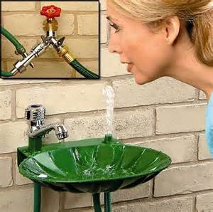 Backyard Faucet And Drinking Fountain » Home Design