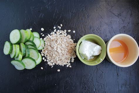 cucumber mask diy cucumber honey and oat mask back to roots