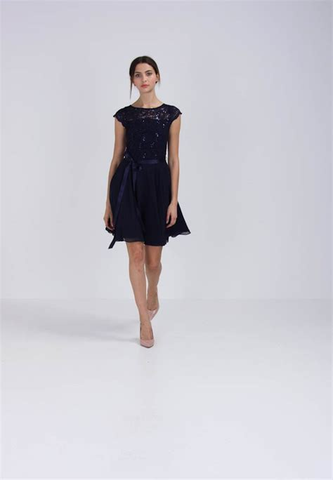 swing cocktailkleid zalando swing cocktailkleid festliches kleid ink zalando de