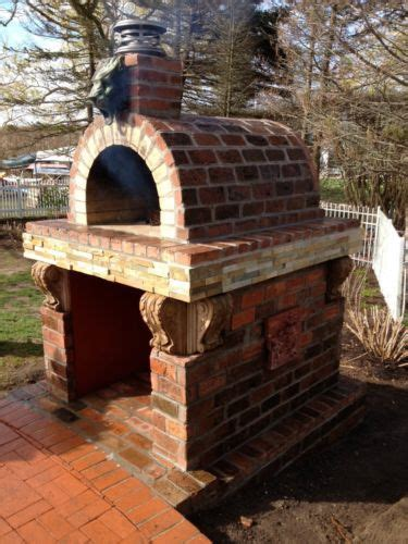 backyard pizza oven kits outdoor wood pizza ovens and diy kits brickwood ovens