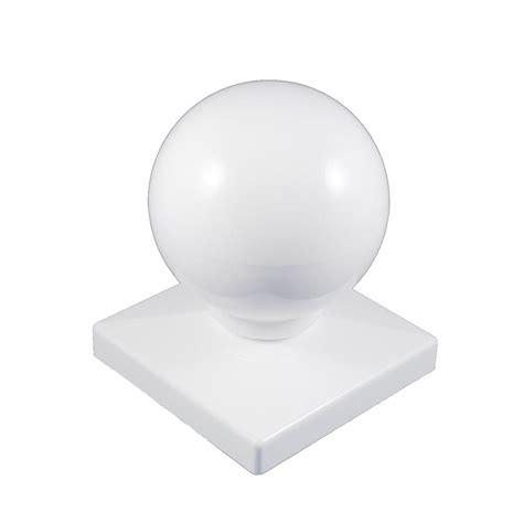 weatherables      white vinyl ball post cap awcp