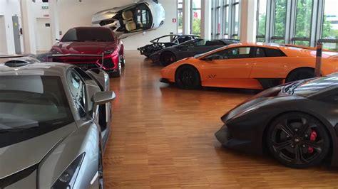 Lamborghini Werk Italien by Lamborghini Factory Museum Bologna Italy