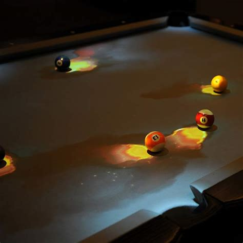 interactive pool table price obscura cuelight greatest pool table ever made