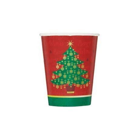 bicchieri natale bicchieri albero di natale rosso e verde articoli per