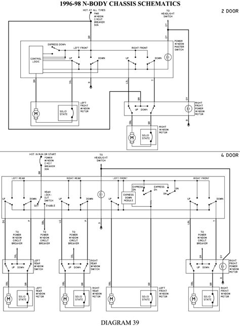 wrg 7511 1996 toyota camry power window wiring diagram