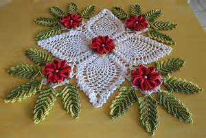 Bathroom Napkin Holder Christmas Decoration Doily Crochet Kingdom