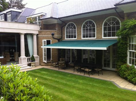 outdoor awnings and canopies surrey blinds awnings repairs and recovers conservatory
