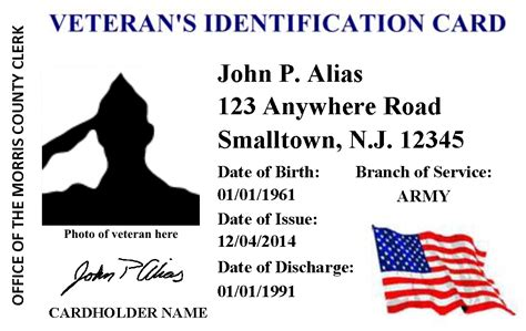 Road Id Gift Card - morris county clerk s veterans id card program on the road in denville morris