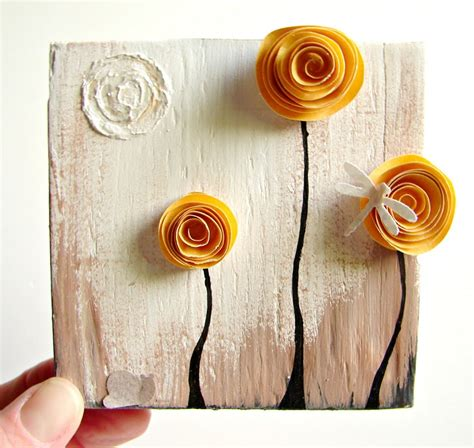 beautiful crafts for recycled crafts beautiful wall decoration with crafts