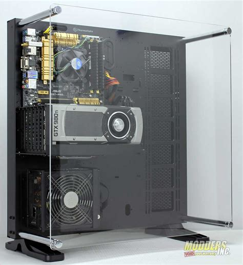 Design Home Computer Network by Thermaltake Core P5 Open Air Mid Tower Case Review Page