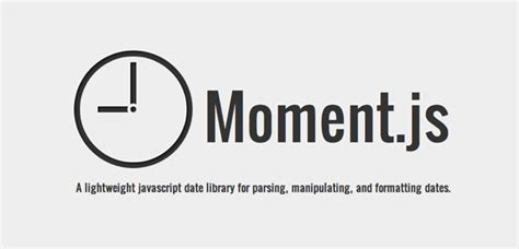format date using moment js moment js script open source per l analisi e la