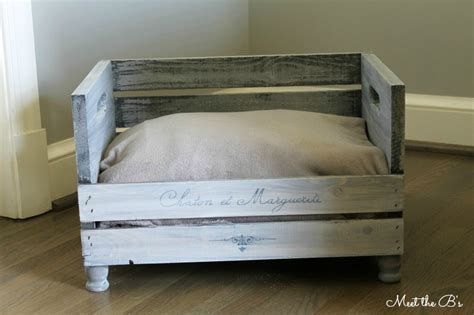 crate beds how to make a diy pet bed the inspired hive